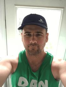Dan Jemmerson Training for the Robin Hood Half Marathon